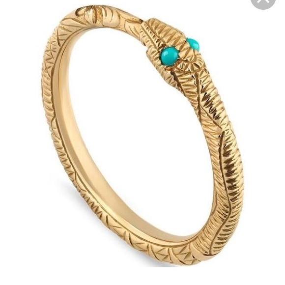ISO Gucci Snake Ring